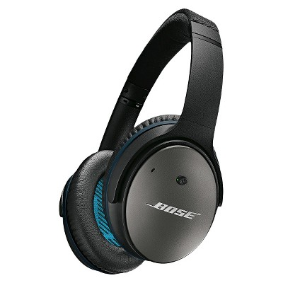 Bose® QuietComfort® 25 Acoustic Noise Cancelling® Headphones Black for Apple