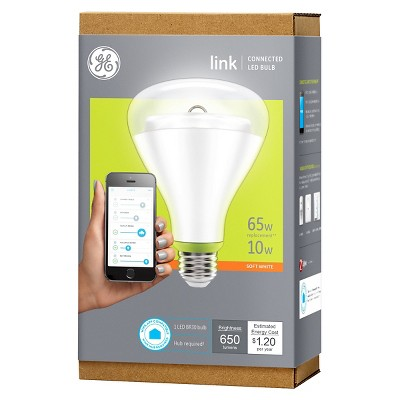 GE Link 65-Watt BR30 Smart LED Light Bulb