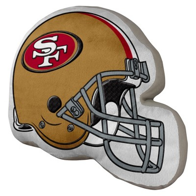 NFL Helmet Pillow 49Ers - Multicolor (15x12)
