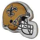 NFL Helmet Pillow Saints - Multicolor (15x12)