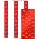 Merry Christmas Holiday Address Labels (120 count) and Seals (50 count)