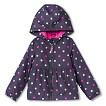 Infant Toddler Girls' Polka Dot Windbreaker - Grey