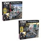 K'Nex Titan Fall IMC Pilot Strike and Militia Pilot Attack Building Set 2-pack