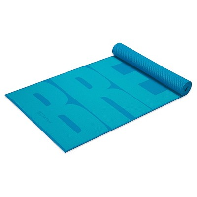 Gaiam Breathe Yoga Mat 5mm