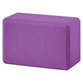 Gaiam Yoga Block- Radiant Orchid