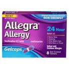 Allegra® 24 hour Allergy Relief Gelcaps for Adults