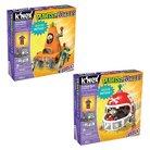 K'Nex Plants vs. Zombies Cone Mech and Football Mech Building Set 2-pack