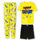 Boys' SpongeBob SquarePants 3-Piece Mix & Match Pajama Set