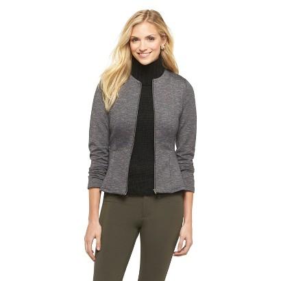 Women's Peplum Jacket-Mossimo