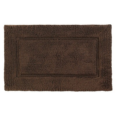 "Kassatex Elegance Bath Rug - Chocolate (21X34"")"