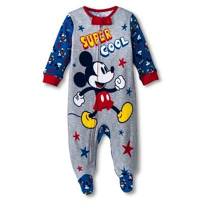 Disney® Newborn Boys' Mickey Mouse Sleep N' Play - Blue 0-3 M