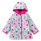 Infant Toddler Girls' Icecream Raincoat - Mint