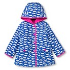 Infant Toddler Girls' Whale Raincoat - Blue