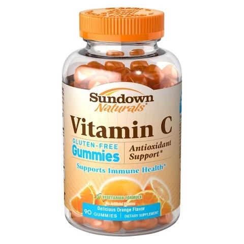 Sundown Naturals® Vitamin C Gummies - 90 Count product details page