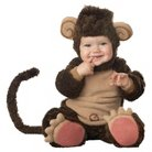 Infant/Toddler Infant Monkey Elite Collection Costume