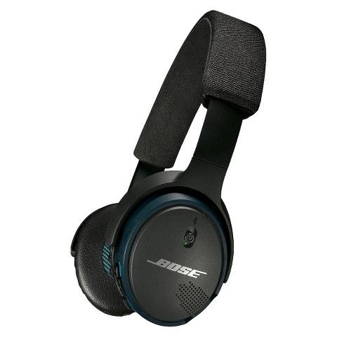 bose soundlink on ear bluetooth headphones black target. Black Bedroom Furniture Sets. Home Design Ideas