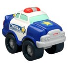 Tonka Light and Sound Wobble Wheels Police Car, Blue