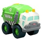 Tonka Light and Sound Wobble Wheels Garbage Truck, Green