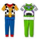 Disney&#174 Toddler Boys' Toy Story Buzz & Woody 4-Piece Mix & Match Pajama Set