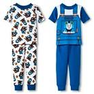 Toddler Boys' Thomas the Train 4-Piece Mix & Match Pajama Set