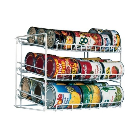 Atlantic Kitchen Storage Can Rack White Target