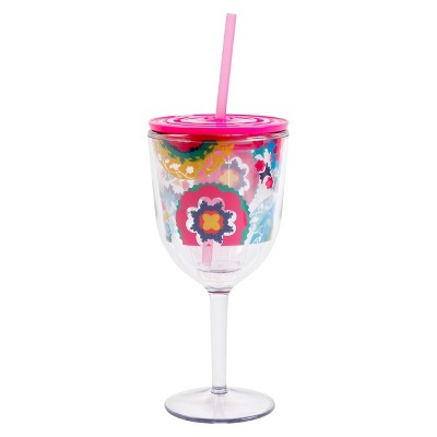 Oui by French Bull Wine Tumblers Set of 4