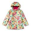 Infant Toddler Girls' Floral Raincoat - Mint