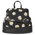 Backpack Handbags XHIL BLK FLRL Hook and loop f