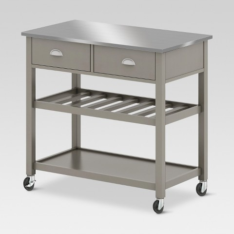 Open kitchen island threshold target - Target kitchen cart ...