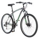 "Schwinn Men's Approach 27.5"" Mountain Bike- Black/Green"