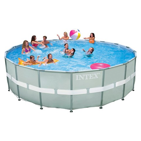 Intex 20ft x 52in Ultra Frame Pool : Target