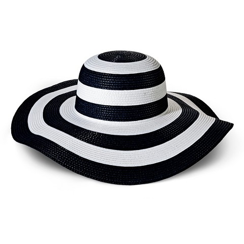 Beach Hats For Women Floppy Women's Striped Floppy Hat