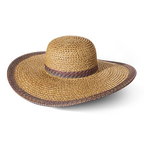 Beach Hats For Women Floppy Women's Floppy Hat With Purple