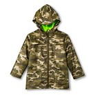 Infant Toddler Boys' Camo Raincoat - Vintage Khaki