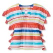 Girls' Striped Cover Up