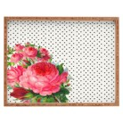 Deny Designs Decorative Allyson Johnson Wooden Tray - Pink Rose