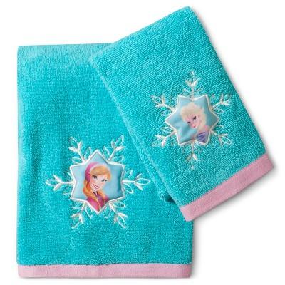 Disney® Frozen 2-pc. Towel Set - Lite Blue