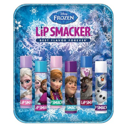 Lip Smackers .84oz Frozen Tin 6pc Lip Balm