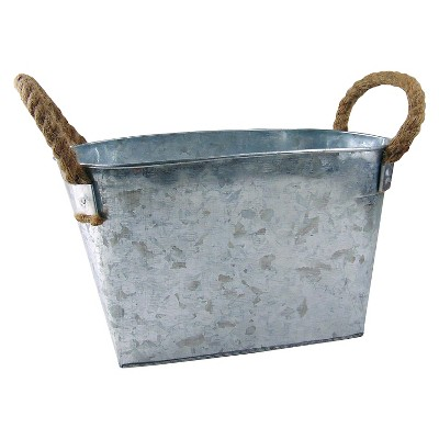 Spritz™ Pail  Galvanized Large w/rope 1 Ct