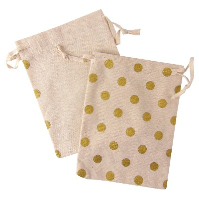 Favor Bags Gold 4 Ct - Spritz™