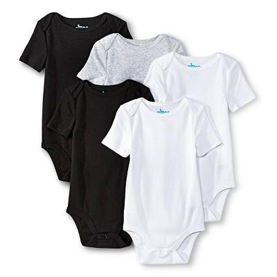 Newborn Boys' Short Sleeve Bodysuit - Multicolor 3-6 M