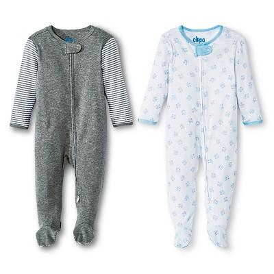 Newborn Boys' Sleep & Play Set - Multicolor NB