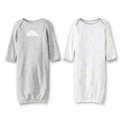 Ecom Male Nightgowns Circo 0-3 M Heather Grey