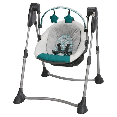 Graco Swing By Me Portable Swing - Smarties