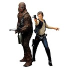 Koyobukiya Han Solo and Chewbacca Artefacts and statues - 2 pack