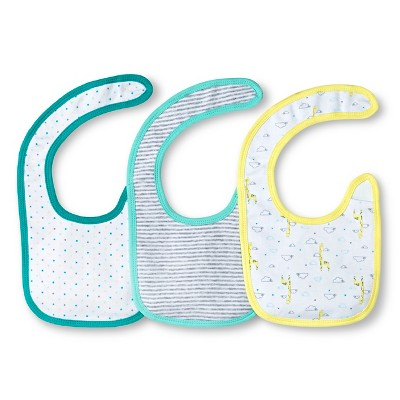 Newborn Bib Set - Heather Grey Circo™