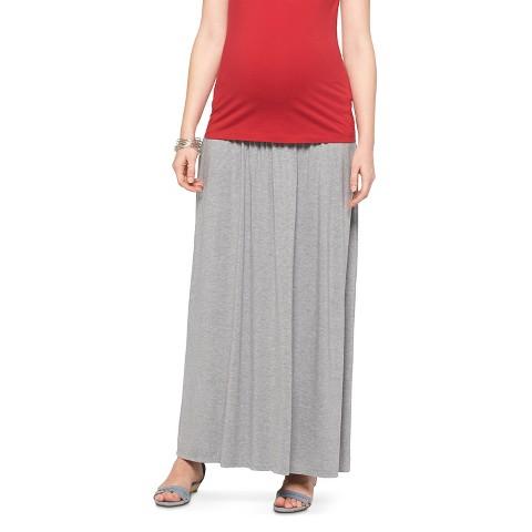 maternity fold maxi skirt liz lange 174 for target 174