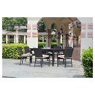 Harrison Wicker 9-Piece Extendable Patio Dining Set
