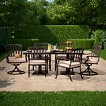 Smith & Hawken™ Premium Kentfield 7-Piece Aluminum Patio Dining Set