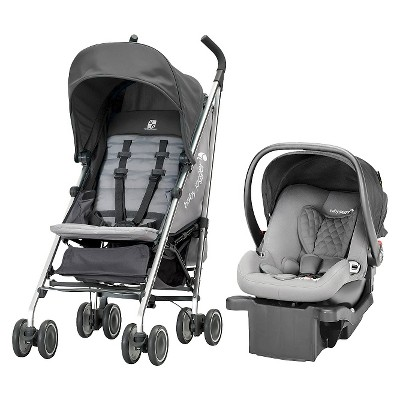 Baby Jogger Vue Lite Travel System - Gray